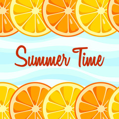 Summer Time background.