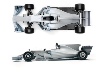 Foto auf Acrylglas F1 3d F1 race car render
