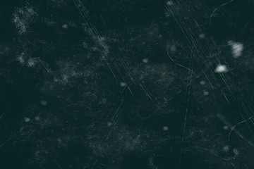 Dark grunge texture with dust and scratches, for design purposes, can be used as texture pattern