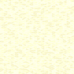 Yellow triangle pattern. Seamless vector