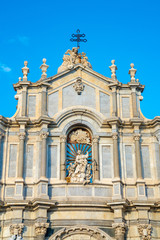 Catania Cathedral, dedicated to Saint Agatha, is a Roman Catholic cathedral in Catania, Sicily.