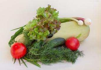 Fresh vegetables. Vegetarian food