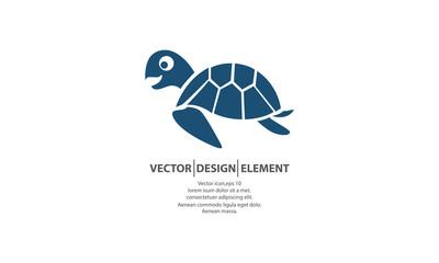 silhouette of turtle logo