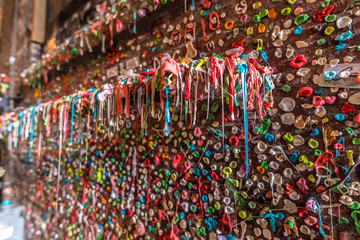Dripping Gum Wall