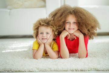 Children on the carpet
