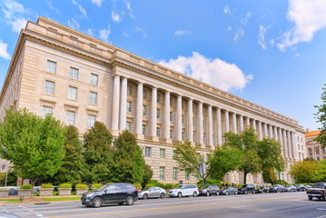 Washington, USA, William Jefferson Clinton West Building.