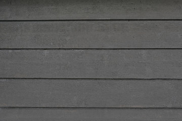 Fototapete - Background texture of black wooden planks, close up