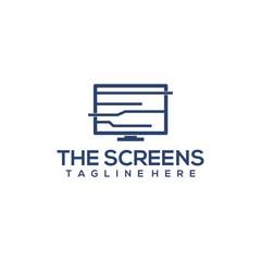 Screen logo