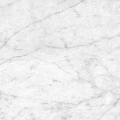 White marble texture pattern. Closeup stone surface natural abstract background.