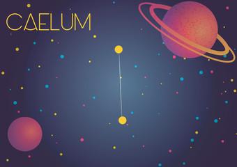 The constellation Caelum