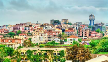 Skyline of Bordj El Kiffan in Algeria