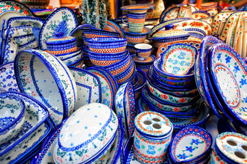 Group of Different Empty Pottery