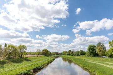 Foto auf Leinwand Fluss Fluss Hase in Niedersachsen, Deutschland