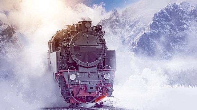 Steam Locomotive Mountain