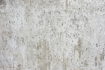 Gray plastered wall