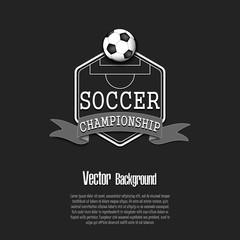 Background Soccer championship