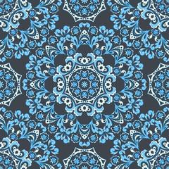 mandala vector seamless pattern