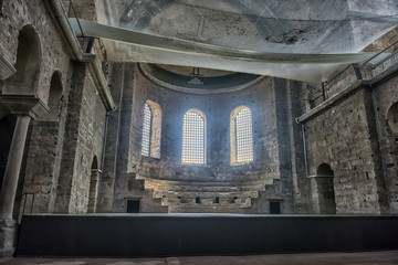 """The Church of St. Irene - one of the earliest surviving churches of Constantinople, is dedicated to the """"Holy World""""."""
