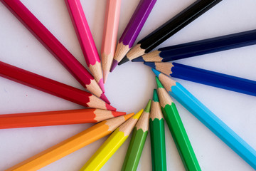 boyama için rekli kalemler