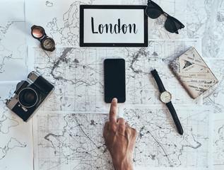 London is new destination.