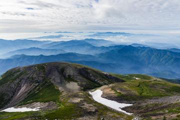 乗鞍岳からの景色