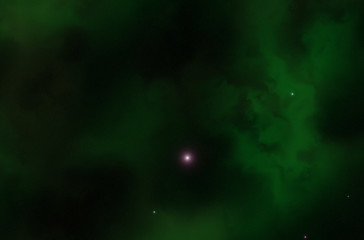 Colorful space nebula. Illustration, for use with projects on science, and education. Plasmatic nebula, deep outer space background with stars. Universe filled with stars, nebula and galaxy