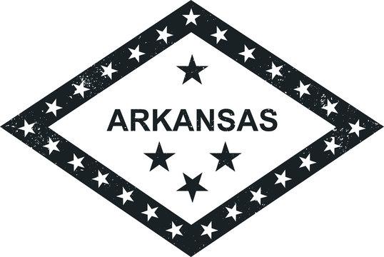 Arkansas state symbolic flag