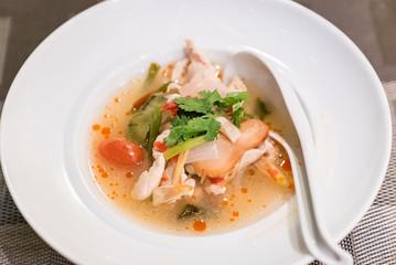 Chicken Tom yum