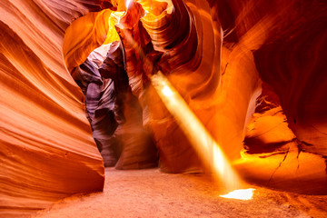Photo sur Aluminium Rouge traffic Upper Antelope Canyon