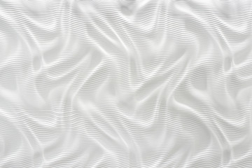 white 3d molded wall with gey casted shadows and texture