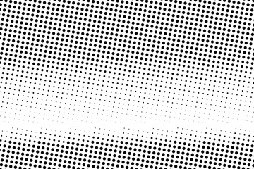 Halftone background. Abstract Pattern in pop art style. Vintage, retro backdrop. Futuristic panel Vector illustration
