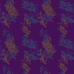 Camo background in violet, blue and brown colors