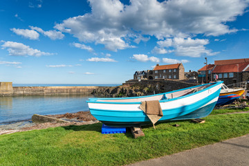 Wall Mural - The Harbour at Craster in Morthumberland