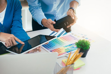 Graphic designer  and Photographer working