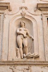 Photo sur Plexiglas Commemoratif Roma, Palazzo Spada - statue e decorazioni