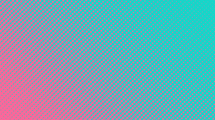 Halftone gradient pattern vector illustration. Blue dotted, pink halftone texture. Pop Art style blue pink halftone, comics Background. Background of Art. Dots background. AI10