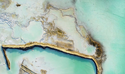 Aerial landscape from the drone