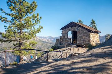 Glacier Point El Capitan Half Dome Yosemite National Park Sierra Nevada California
