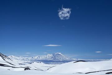 Zhupanovsky volcano, Kamchatka