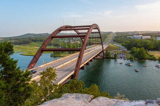 Austin 360 Bridge Austin Texas
