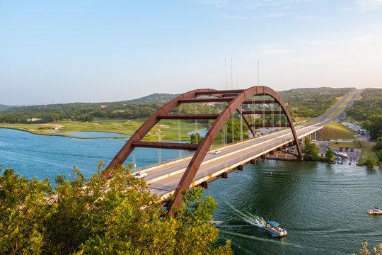Pennybacker Bridge Highway 360  Austin Texas 1