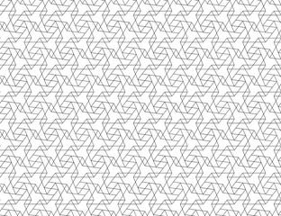 CROSSING LINES. GEOMETRIC SEAMLESS VECTOR PATTERN.