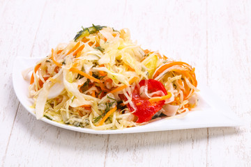 Traditional fermented cabbage