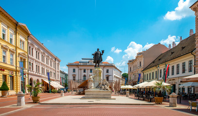 Hungary, Szeged: Cityscape