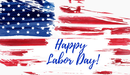 USA Labor day background