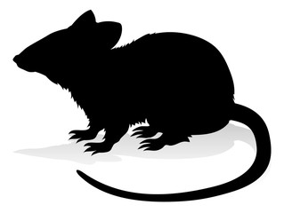 Rat Rodent Animal Silhouette