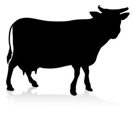 Cow Farm Animal Silhouette