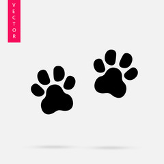 Footprint of paw icon