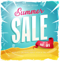 Summer Sale Template Banner/