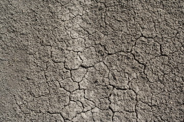 Texture of dry soil earth, background